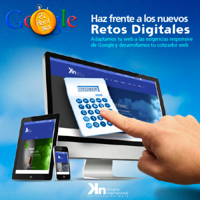 EL RETO  DEL MARKETING DIGITAL  (Web Responsive y Cotizadores Web)